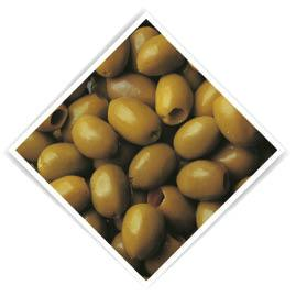 Olives pitted natural green 1