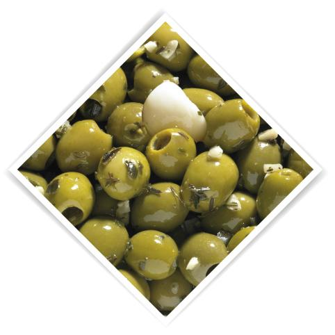 Olives pitted garlic 4