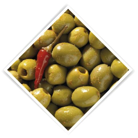 Olives pitted piquant 3