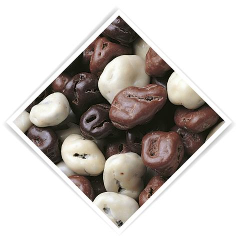 Chocolate raisins 1