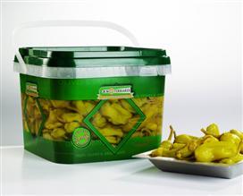 Groene pepers