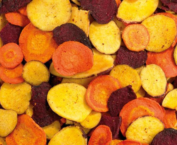 Vegetable crisps 3